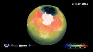 Ozonloch schrumpft