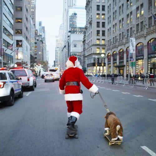 Santa Claus in New York