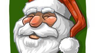 Weihnachtsmann oder Santa Claus