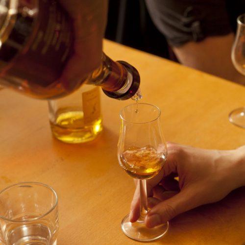 Whiskey probieren