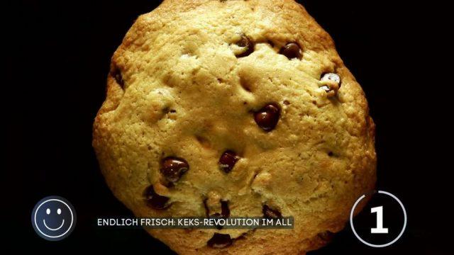 Keks-Revolution: Erster Schoko-Cookie im Weltall gebacken