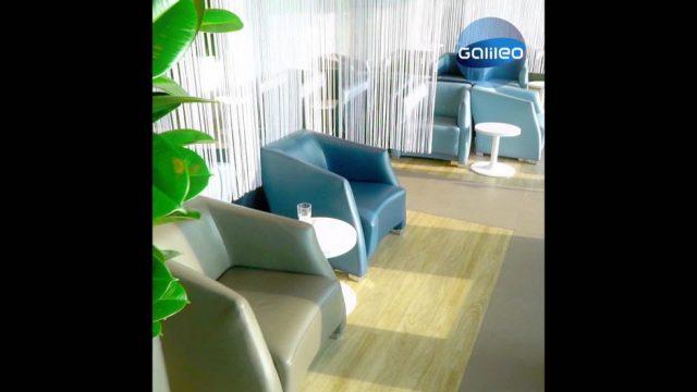 Luxus-Lounge für jedermann