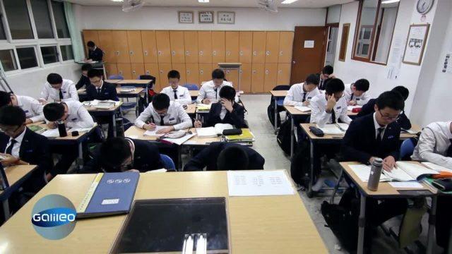 Südkorea im Ausnahmezustand wegen einer Schulprüfung: Was steckt dahinter?