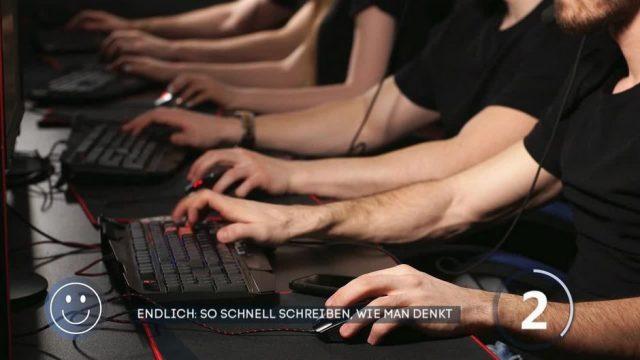 So schnell tippen, wie man denkt - dank neuer Computertastatur?