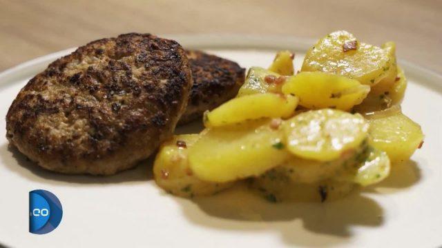 Vom Desaster zum Master: Frikadelle mit Kartoffelsalat
