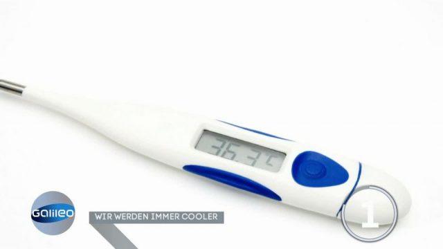 Was bedeutet es, wenn die Körpertemperatur unter 37 liegt?