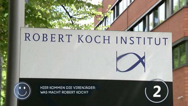 Was sind die Aufgaben des Robert Koch Instituts?