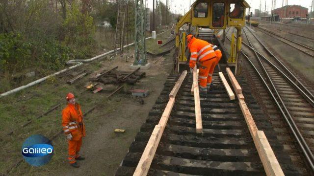 Wie hart ist der Job als Gleisarbeiter?