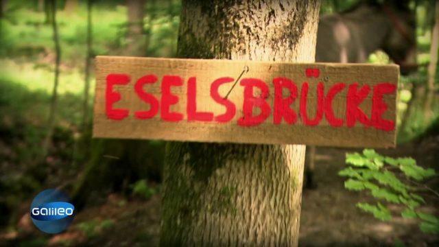 "Woher kommt der Begriff ""Eselsbrücke""?"