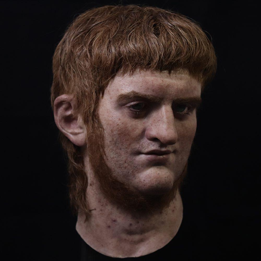 Römischer Kaiser Nero nach Salva Ruano