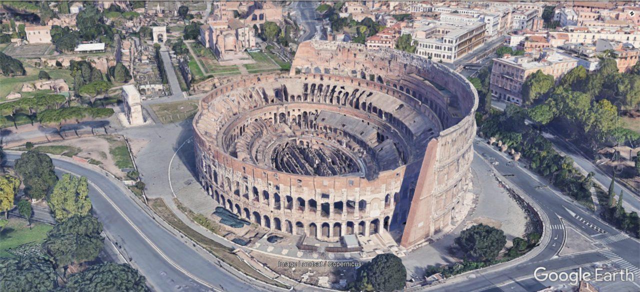 Das Römer Kolosseum als 3D-Modell.