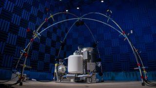 Das soll ein Klo sein? Die neue Weltraum-Toilette der NASA ist auf den ersten Blick nicht unbedingt als Toilette erkennbar.