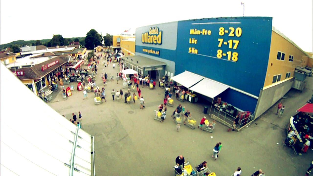 XXL Supermarkt in Ullared