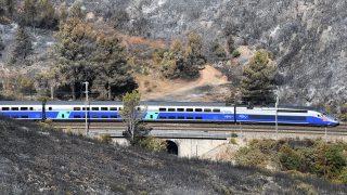 TGV-Zug aus Frankreich