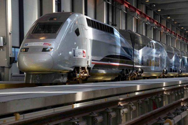 TGV hält den Rekord