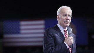 Joe Biden (77), ehemaliger Vizepräsident und Senator