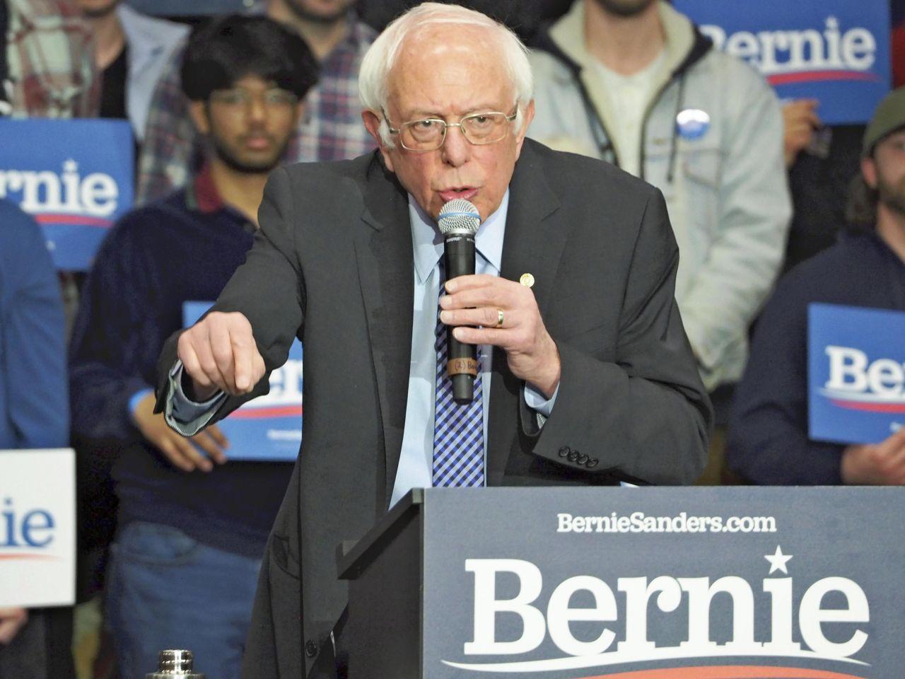 Bernie Sanders (78), Senator aus Vermont