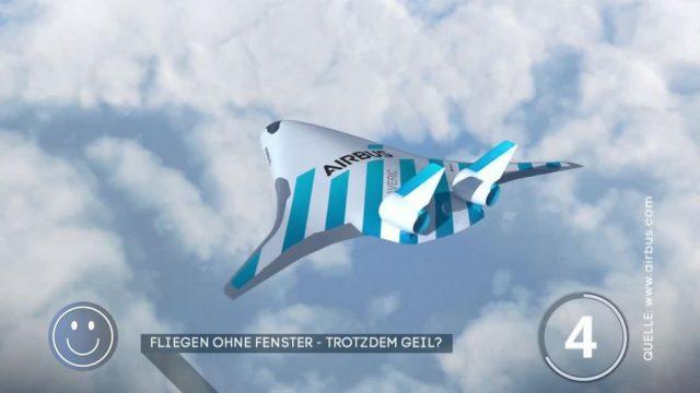 Fliegen ohne Fenster: Ist das das Flugzeug der Zukunft?