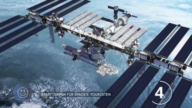Flug ins All: Starttermin für SpaceX-Charterflug steht fest