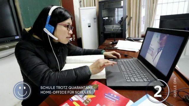 Schule trotz Quarantäne: Homeoffice für Schüler in China