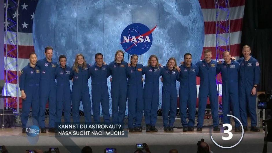 Traumjob Astronaut: Die NASA sucht Nachwuchs!