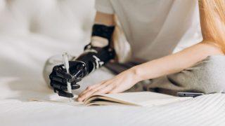 Eine Myoelektrische Armprothese