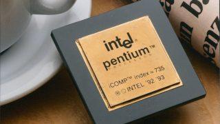 Ein Intel-Prozessor von 1993.