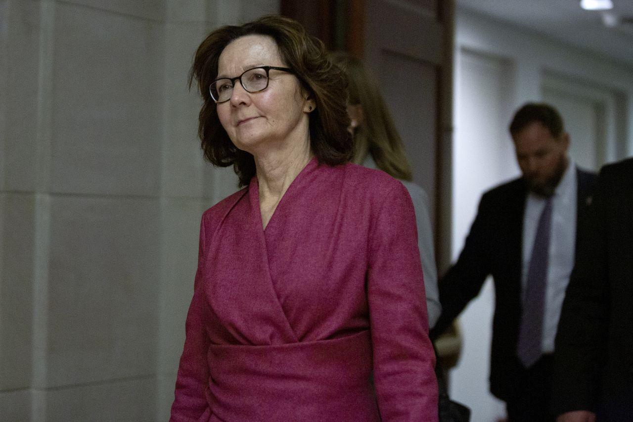 CIA-Chefin Gina Haspel