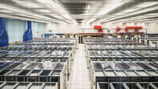 Ein Computerzentrum im Rechenzentrum Cern, einer der Geburtsorte des Internets.