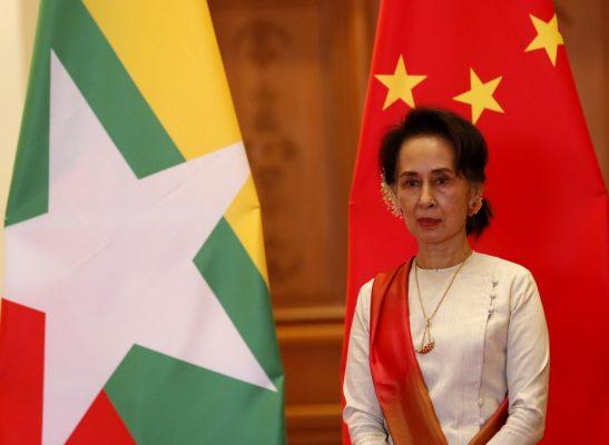Oppositionsführerin Aung San Suu Kyi