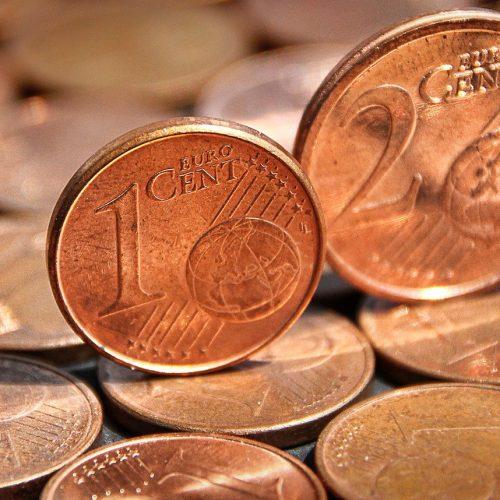Die kleinen Centmünzen werden in einigen Ländern des Euroraums nicht mehr verwendet
