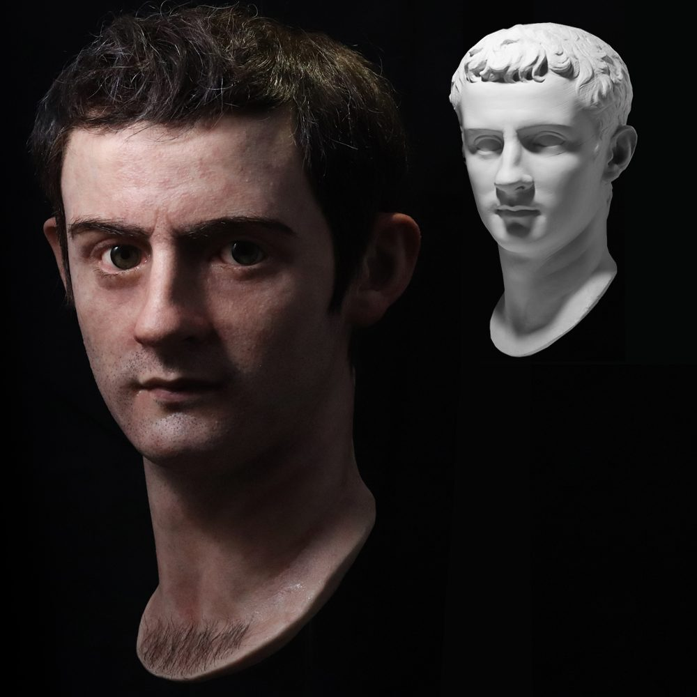 Römischer Kaiser Caligula nach Salva Ruano