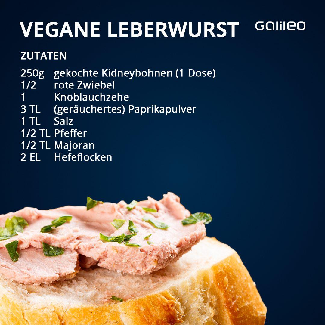 Vegane Leberwurst aus Kidneybohnen