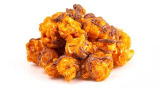 Schoko-Erdnuss-Popcorn
