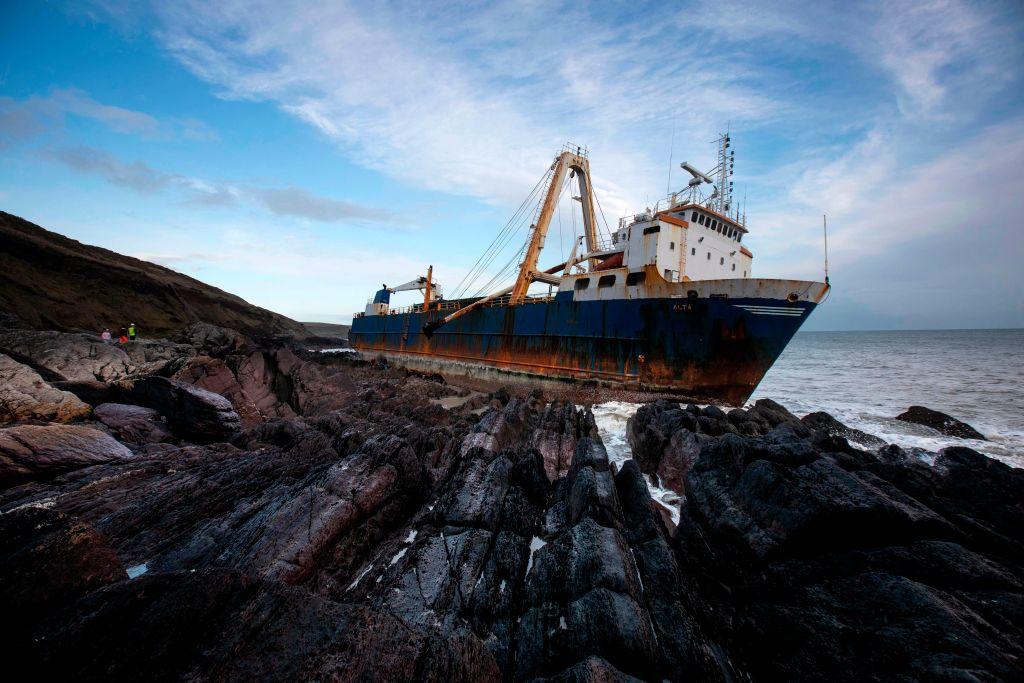 Geisterschiff Irische Küste