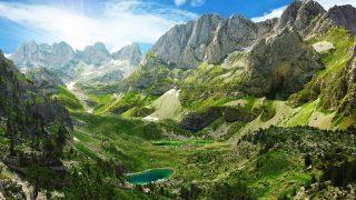 Berge Albanien