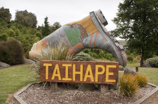 Taihape - Hauptstadt der Gummistiefel
