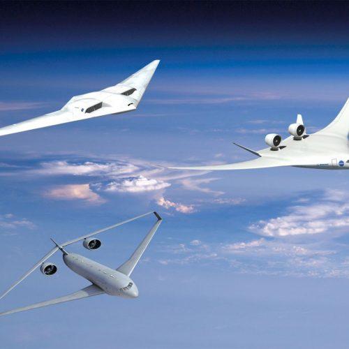 Drei Ideen für umweltfreundlichere Flugzeuge der Nasa