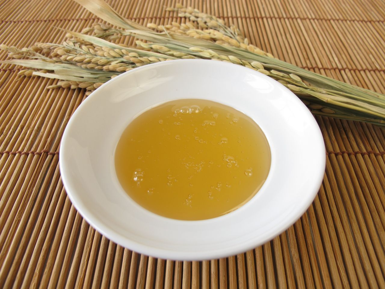 Gelbe Flüssigkeit Reissirup