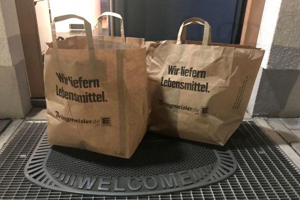 Die Nachfrage nach Online-Bestellungen von Lebensmitteln ist stark gestiegen