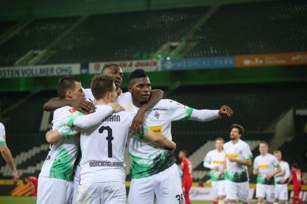 Verzichten auf einen Teil ihres Gehalts: die Spieler von Borussia Mönchengladbach