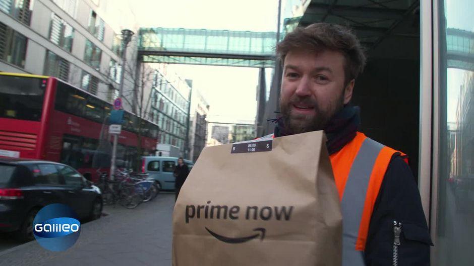 25 Euro pro Stunde als Postbote verdienen: Galileo testet Amazon Flex