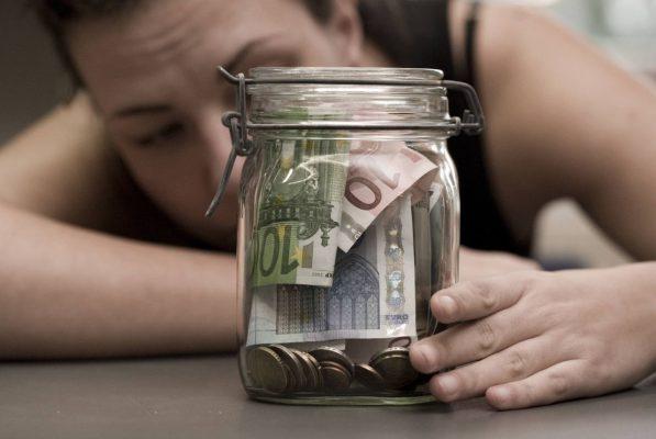 Geld im Einmachglas