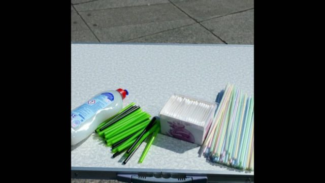Coole Alternative zu Plastik-Halmen - 10s