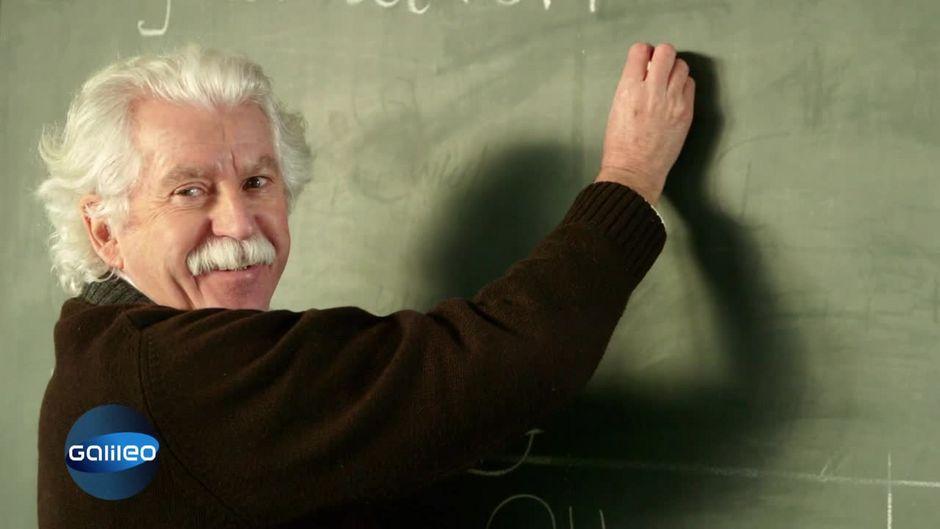 Darum streckt Einstein die Zunge raus
