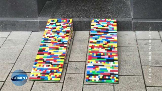 Für mehr Barrierefreiheit: Diese Frau kreiert Rampen aus Legosteinen