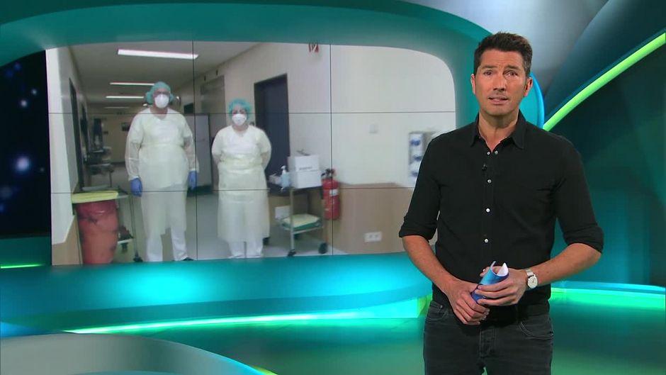 Freitag: Krankenhaus stellt um - Corona