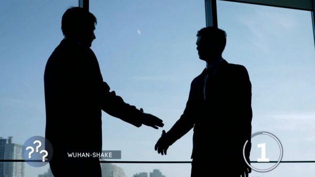 Wuhan-Shake: Wie man sich trotz Corona nett begrüßen kann