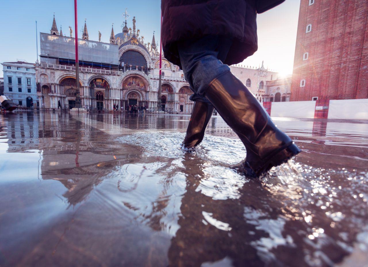 """Acqua alta: Führt """"MoSE"""" Venedig aus den Hochwassern?"""