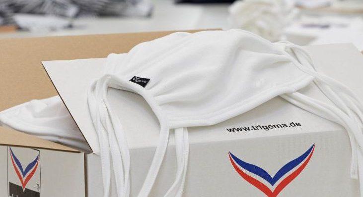 Corona: Trigema stellt Mundschutz-Masken her